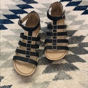Croft & Barrow Black Sandals